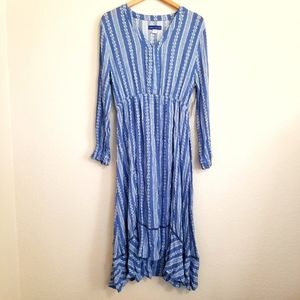 NWT Simply Styled Island Style Maxi Dress Large